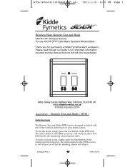 RF RTH - Kidde Fyrnetics