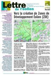 Lettre de l'éolien 4 - Plan Climat du Pays de Romans - Communauté ...