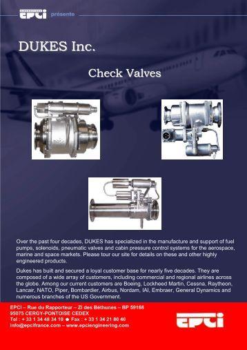 DUKES Inc. - EPCI ENGINEERING