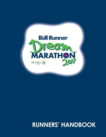 tbrdm runners' handbook 2011 - The Bull Runner