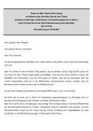 Rede im Hessischen Landtag im Rahmen einer Aktuellen Stunde ...
