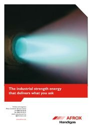 The industrial strength energy that delivers what you ask