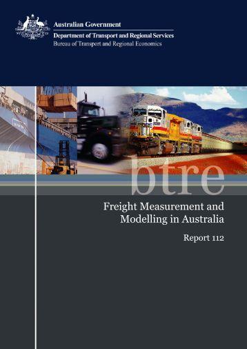 PDF: 7965 KB - Bureau of Infrastructure, Transport and Regional ...