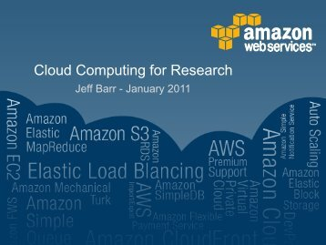 Cloud Computing for Research