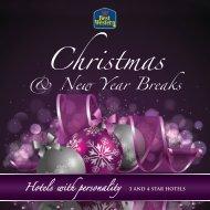 Christmas Breaks Brochure 2013 - Feathers Hotel Group - UK.COM