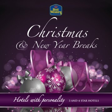 Christmas Breaks Brochure 2013 - Feathers Hotel Group - UK.COM