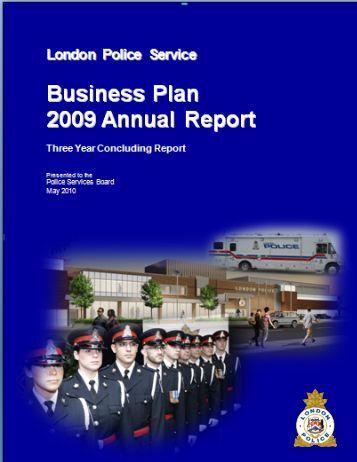 Hamilton police service business plan