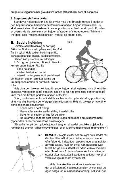 SPECIALIZED CYKEL INSTRUKTIONSBOG - Specialized Bicycles