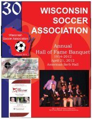 2012 WSA Hall of Fame Committee - Wisconsin Adult Soccer ...