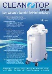 Prospekt - desinfektor flexibilních endoskopů Cleantop - Medial