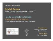 Exhibit Design: How Does Your Garden Grow? - American Public ...
