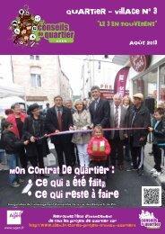 Journal du Quartier-village 03 - Ville d'Agen