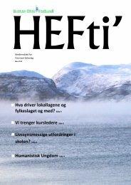 Les HEFti her! - Human-Etisk Forbund