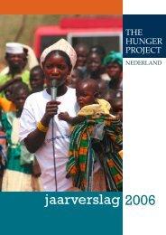 jaarverslag 2006 - The Hunger Project