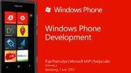 Introduction to Windows Phone Development