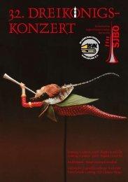 32. DREIKONIGS- - Sinfonisches Jugendblasorchester Karlsruhe