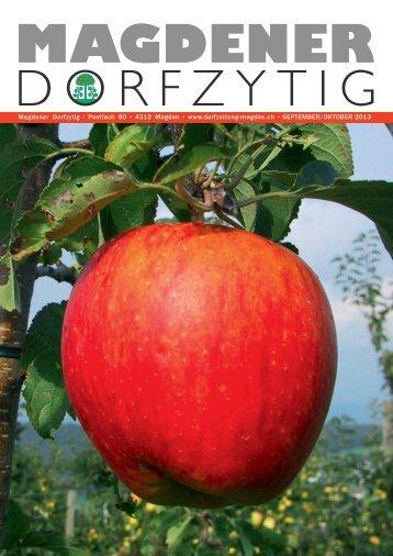 Ausgabe 4/2013 - Magdener Dorfzytig