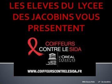 Coiffeurs contre le sida