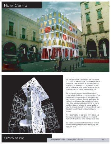 Hotel Centro - OPerA Studio