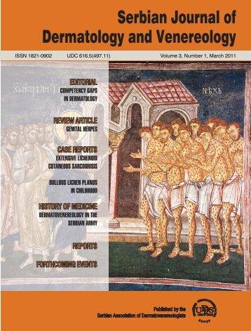 Serbian Journal of Dermatology and Venereology - UDVS.org