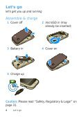 NA WX442 Getting Started Guide - Revol Wireless - Page 6