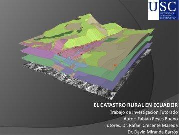 el catastro rural en ecuador