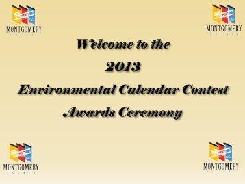 Environmental essay contest 2012 calendar