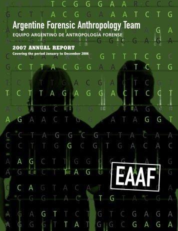 Argentine Forensic Anthropology Team - EAAF