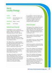 Part 8 Locality Strategy - Coffs Harbour City Council