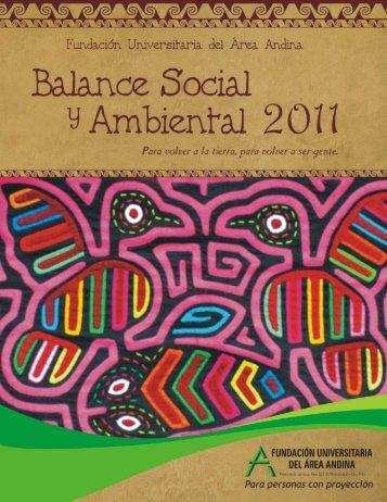 balance social2011 fas.indd - Fundación Universitaria del Área ...