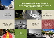 turisme sostenible dinamitzación econòmica concurs internacional d ...