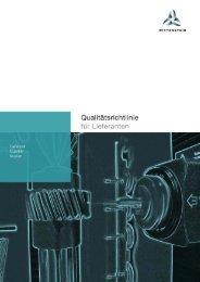 Qualitätsrichtlinie - WITTENSTEIN alpha