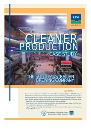 Cleaner Production Case Study - The South Australian Brewing - EPA
