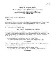 Q3, 12/1/2010 - 2/28/2011 - Lone Star Healthy Streams Program