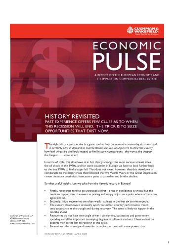 Economic Pulse – History Revisited - Balkans.com