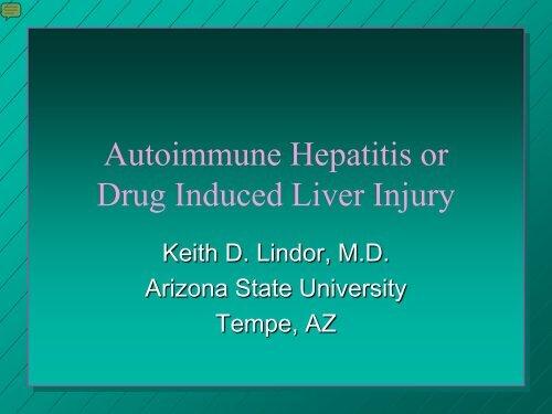 Is it autoimmune hepatitis or DILI? - AASLD