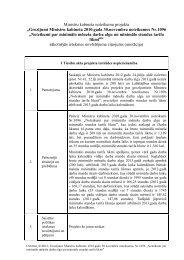 Grozījumi Ministru kabineta 2010.gada 30.novembra noteikumos Nr ...