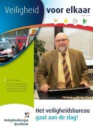 eerste nieuwsbrief-bericht - Veiligheidsregio IJsselland