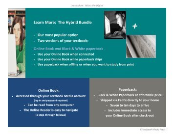Learn More: The Hybrid Bundle - Textbook Media