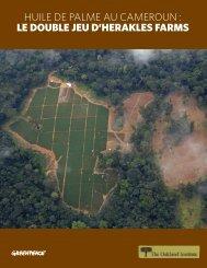le double jeu d'herakles farms - Greenpeace