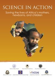 SCIENCE IN ACTION - Averting Maternal Death and Disability