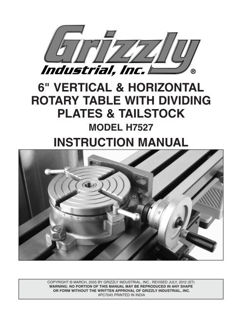 """Indexing Plates Set For Horizontal Vertical 4/"""" and 6/""""// Dividing Plate for Rotary"""