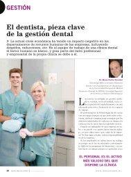 El dentista, pieza clave de la gestión dental