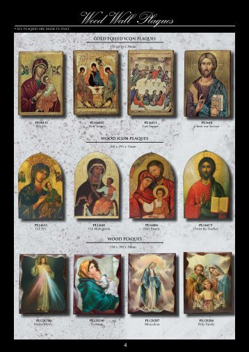 Wood Wall Plaques - Christian Supplies