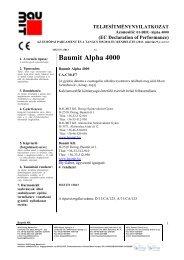 Alpha 4000 - TNyLokok - Baumit