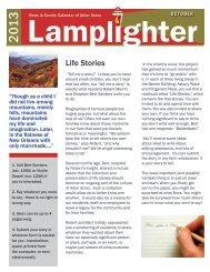 Lamplighter October 2013 - Arbor Acres