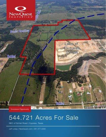 544.721 Acres For Sale - NewQuest Properties