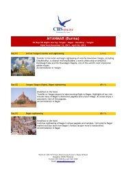 MYANMAR (Burma) - Global Travel Media