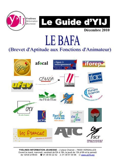 Guide BAFA 2010 - CIJ des Yvelines