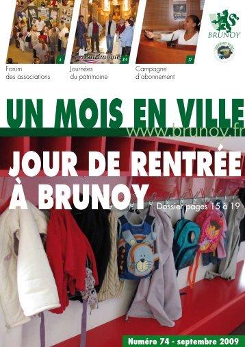 ACtuALIté - ville de Brunoy